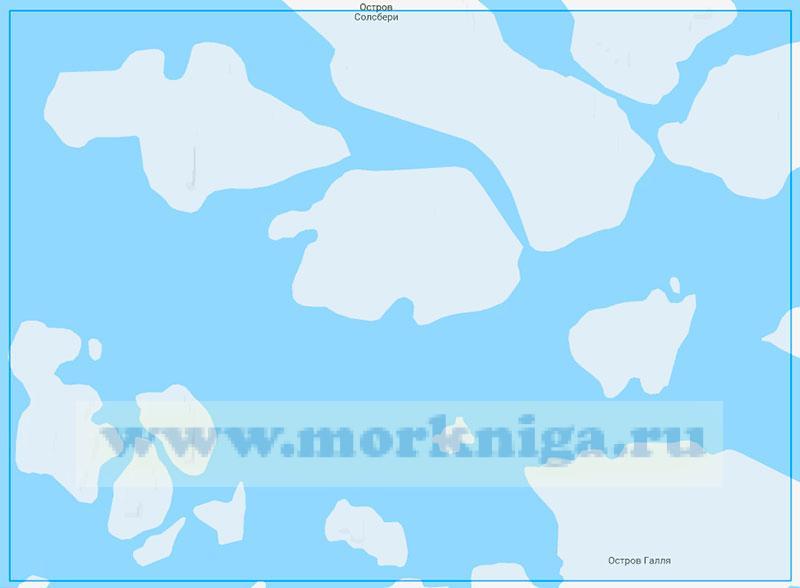 14244 Проливы Маркема и Ермак (Маштаб 1:100000)