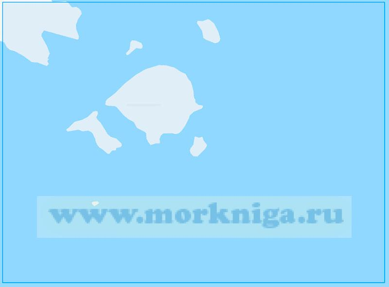 14246 Подходы к острову Сальма (Маштаб 1:100000)