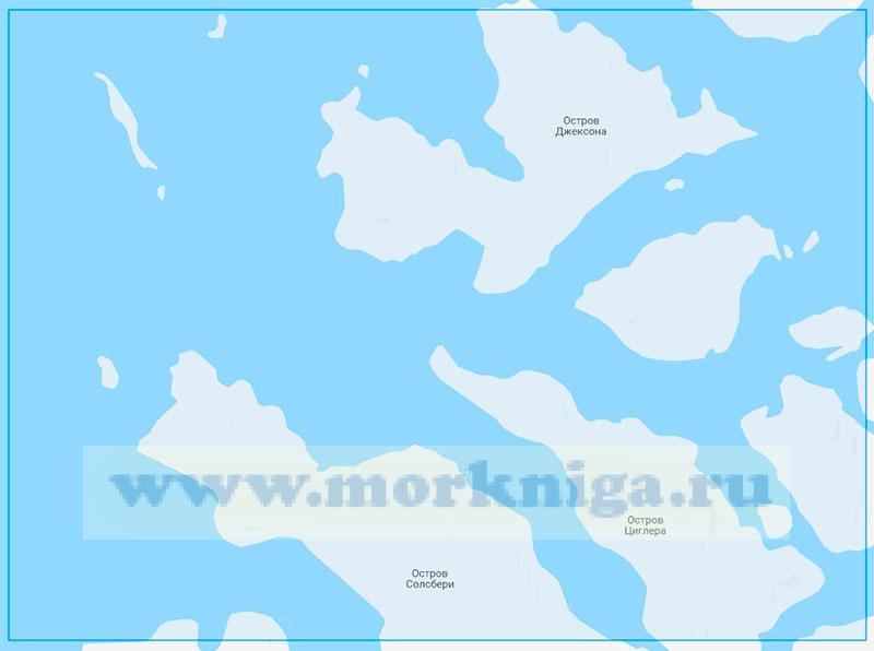 14250 Проливы Родса, Бута и Итальянский (Маштаб 1:100000)