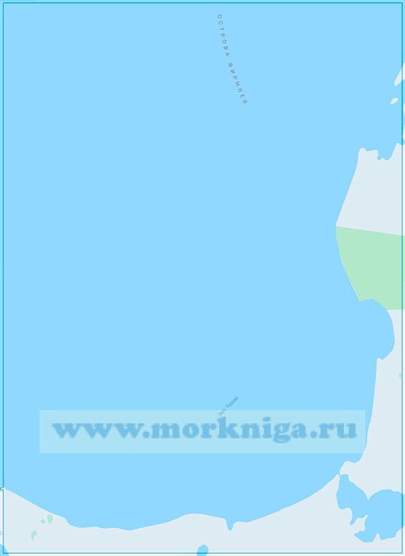 14312 Залив Толля с подходами (Маштаб1:100000)