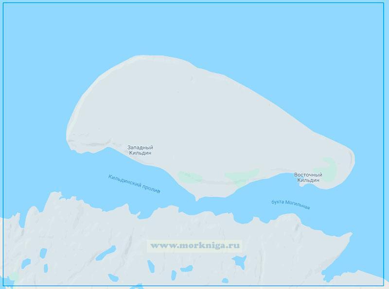 15011 Кильдинский пролив (Маштаб 1:25000)