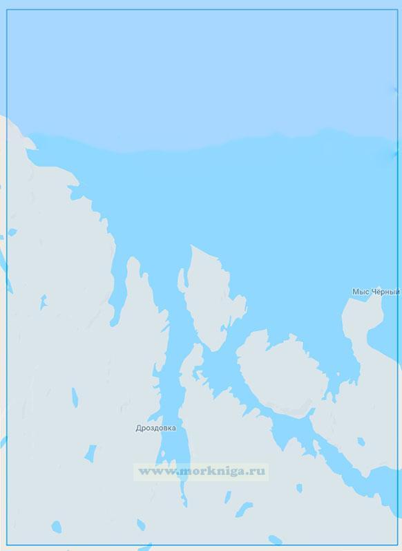 15014 Нокуевский залив (Маштаб 1:25000)