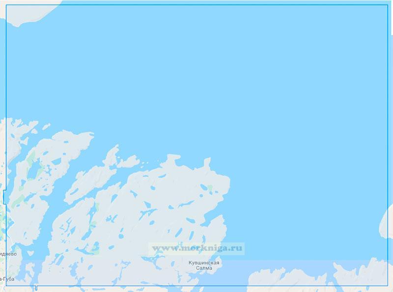 15054 От губы Ара до острова Кильдин (Маштаб 1:50000)