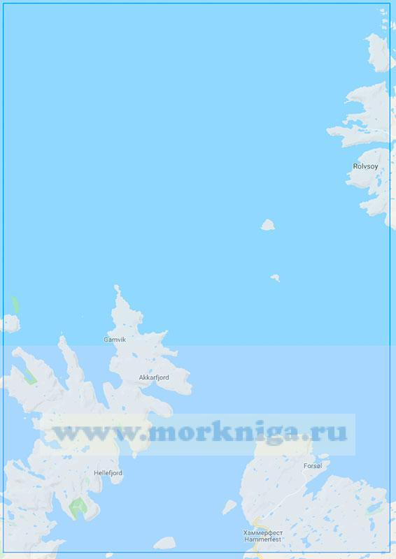 15120 От порта Хаммерфест до маяка Фрухолмен (Маштаб 1:50000)