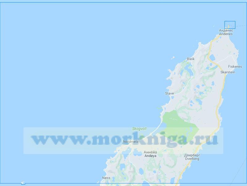 15147 От острова Анда до маяка Анненес (Маштаб 1:50000)