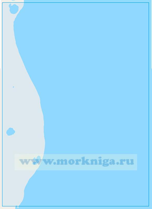 15339 От мыса Лабтасаля до реки Юрибейтояха (Маштаб 1:50000)