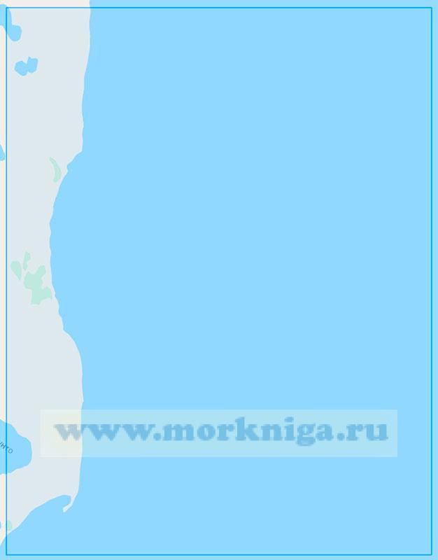 15341 От реки Паруйяха до мыса Белый (Маштаб 1:50000)