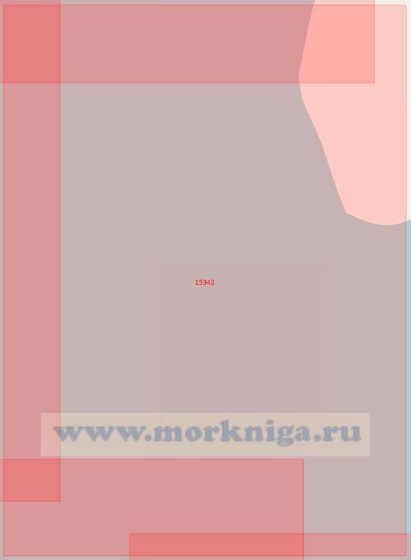 15343 Район к юго-западу от мыса Трехбугорный (Маштаб 1:50000)