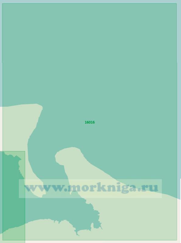 16016 Северная часть Унской губы с подходами (Маштаб 1:25000)