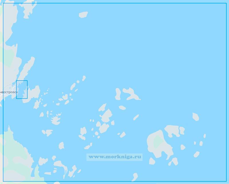16034 Порт Кемь с подходами (Маштаб1:25000)