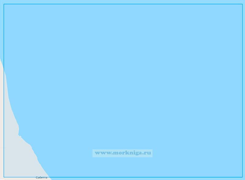 18332 Подходы к порту Сабетта (Маштаб 1:25000)