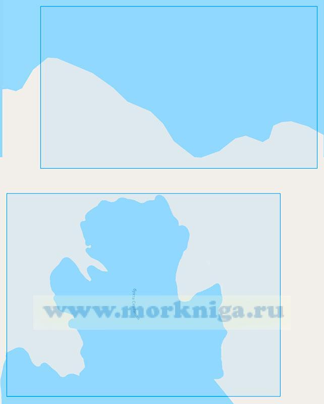 19240 Остров Земля Александры. Залив Дежнёва и бухта Зверобоев (Маштаб 1:0)