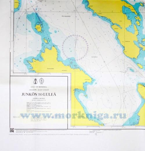 1010 Junkon to Lulea. Admiralty