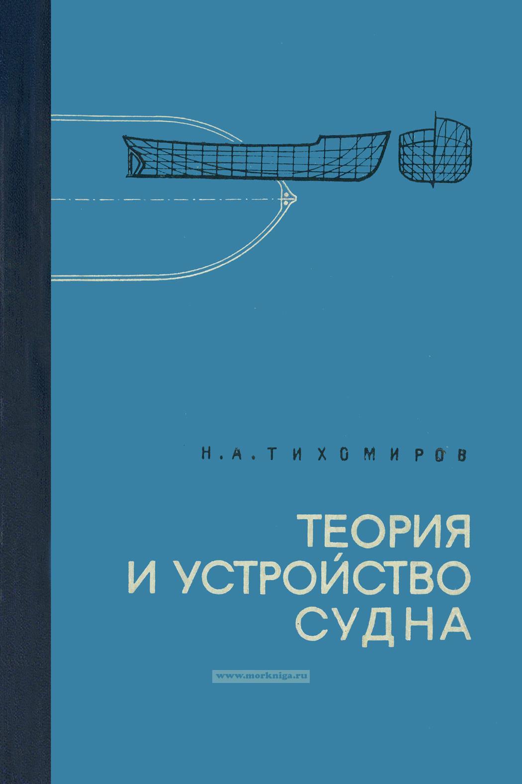 Теория и устройство судна внутреннего плавания