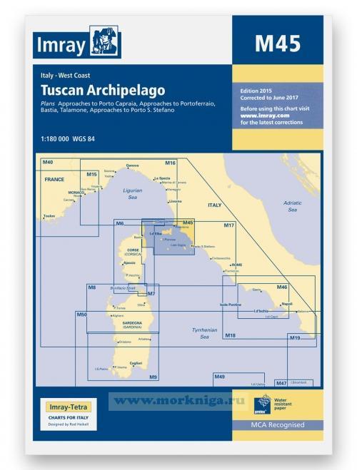 M45 Tuscan Archipelago. Тосканский архипелаг