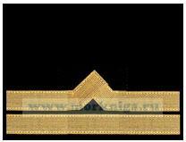 Нарукавный знак различия речного флота (нашивка, шеврон) 6 должностная категория