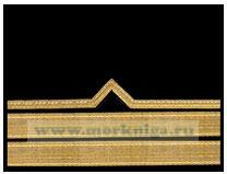 Нарукавный знак различия речного флота (нашивка, шеврон) 7 должностная категория