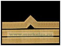 Нарукавный знак различия речного флота (нашивка, шеврон) 8 должностная категория