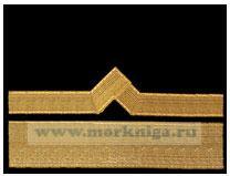 Нарукавный знак различия речного флота (нашивка, шеврон) 11 должностная категория