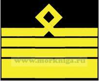 Нарукавный знак различия морского флота (нашивка, шеврон) 13 должностная категория