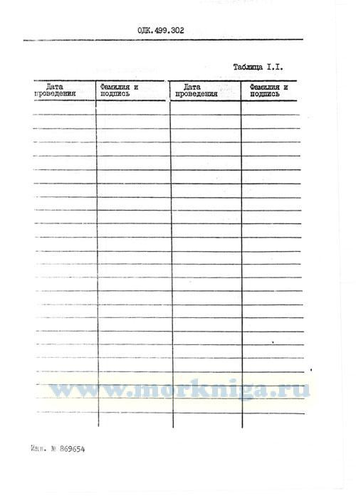 Электростанция 5Е96 (5Е96-А). Журнал регламентных работ. ОДК.499.302
