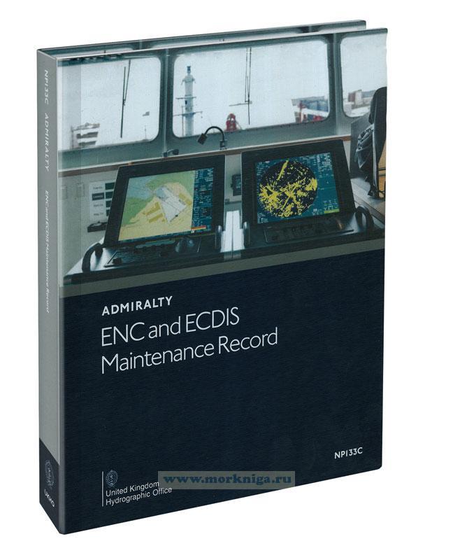 Admiralty ENC Maintenance Record NP133C