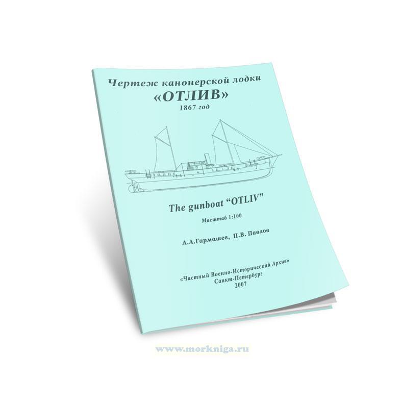 Чертежи кораблей. Чертеж канонерской лодки