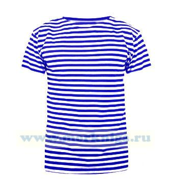 Тельняшка-футболка голубая полоса (ВДВ)