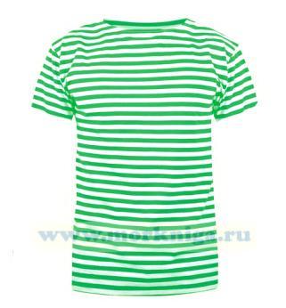 Тельняшка футболка зеленая полоса (Пограничные войска)