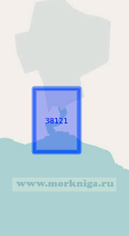 38121 Балаклавская бухта (Масштаб 1:3 000)