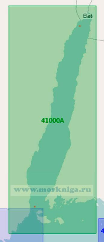 41000 Заливы Суэцкий и Акаба (Масштаб 1:500 000)