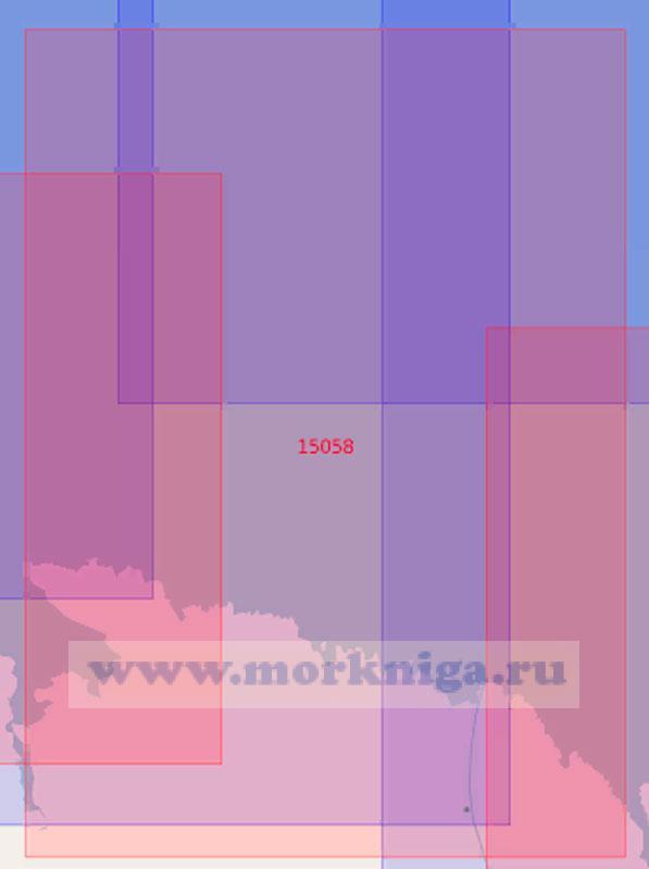 15058 От мыса Териберский до островов Гавриловские (Масштаб 1:50 000)