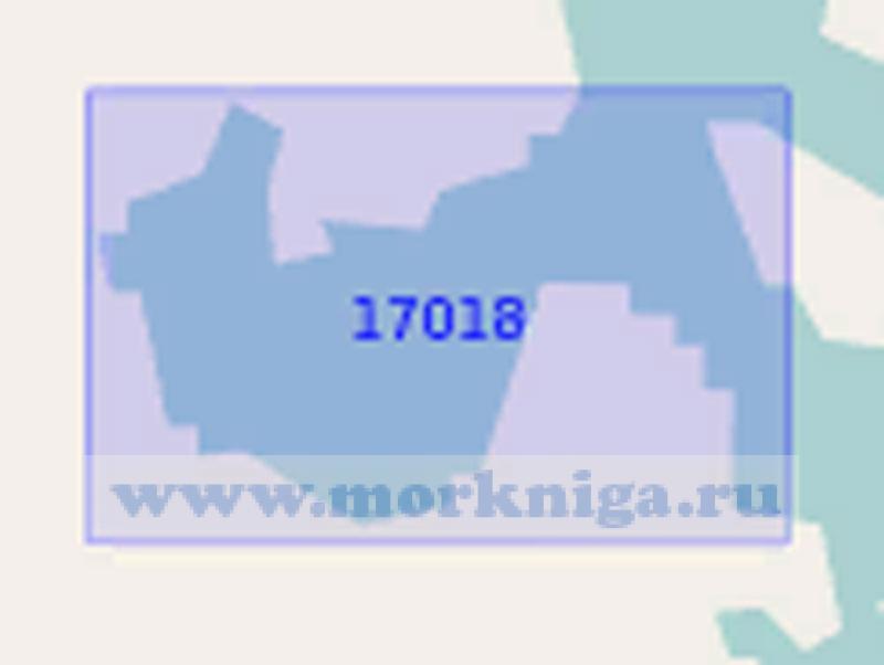 17018 Губа Долгая-Западная. Губа Лобаниха (Масштаб 1:2 000)