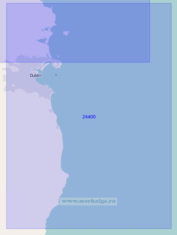 24400 От банки Арклоу до острова Ламбей (Масштаб 1:100 000)