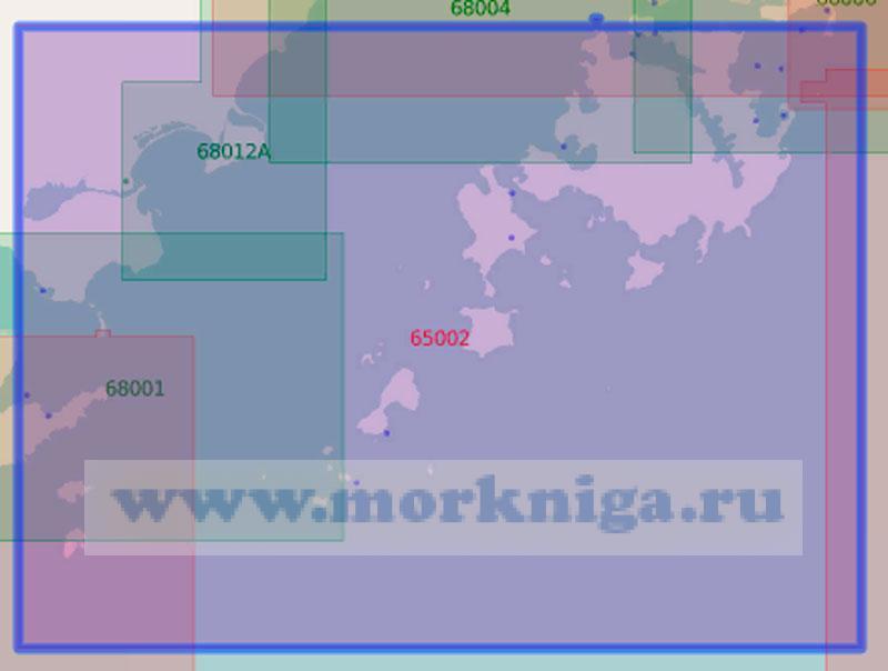 65002 От острова Сибирякова до острова Скрыплёва (Масштаб 1:50 000)