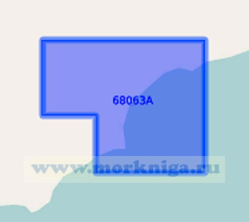 68063 Бухты северо-западного берега Японского моря (Масштаб 1:0)