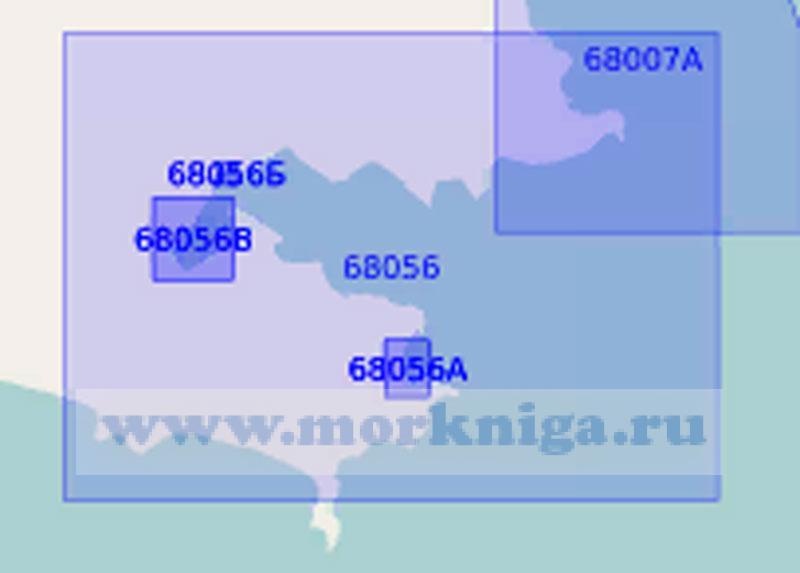 68056 Бухты Гайдамак и Южно-Морска (Масштаб 1:5 000)