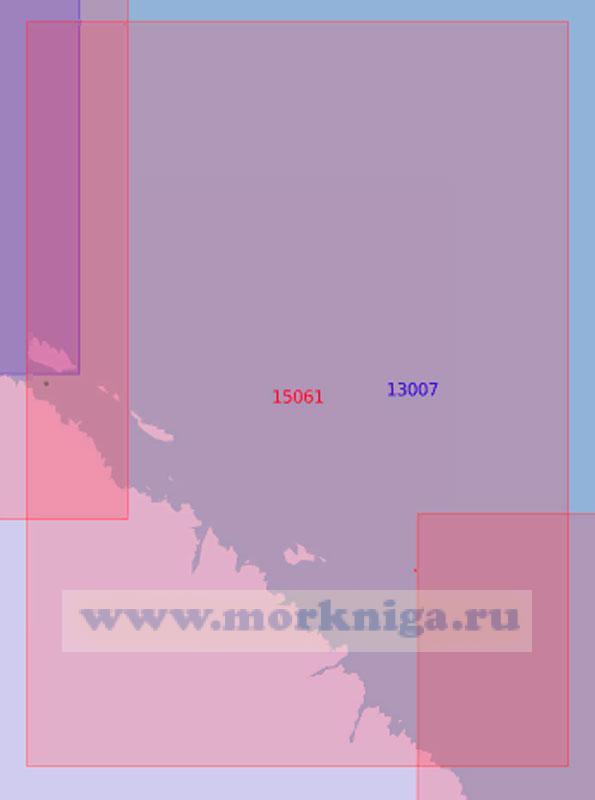 15061 От острова Харлов до мыса Ягодный (Масштаб 1:50 000)