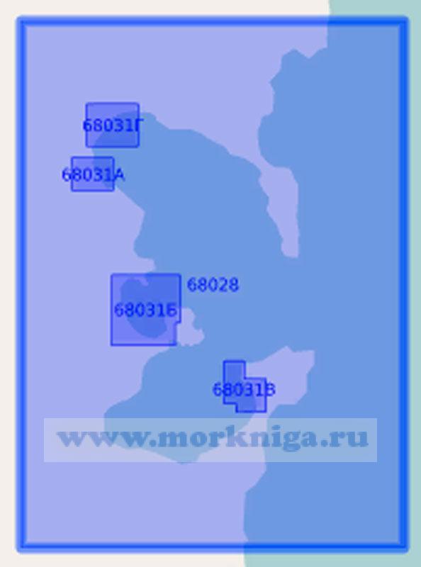 68028 Залив Владимира (Масштаб 1:15 000)