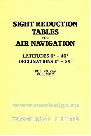 Sight Reduction Tables Vol 2 (US Version)