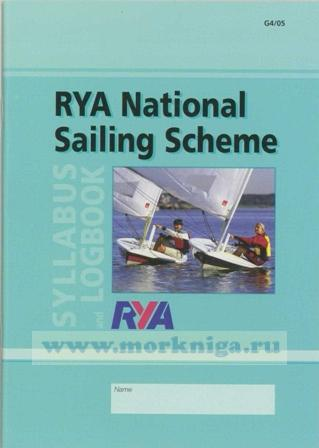 RYA National Sailing Scheme Syllabus and Log Book