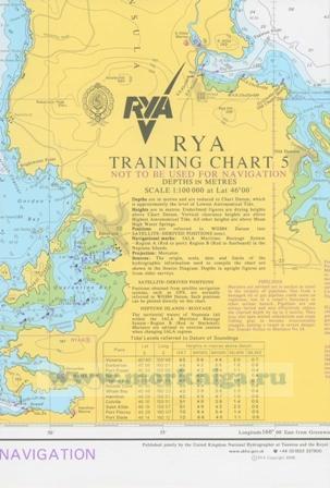 RYA Training Chart 5
