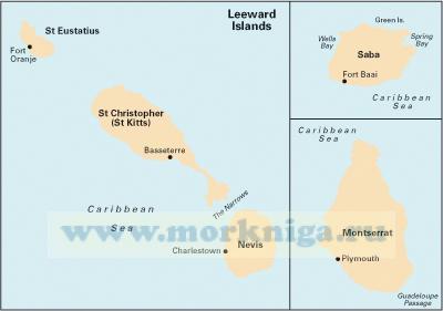 A25 St Eustatius, Nevis, St Christopher, Montserrat & Saba