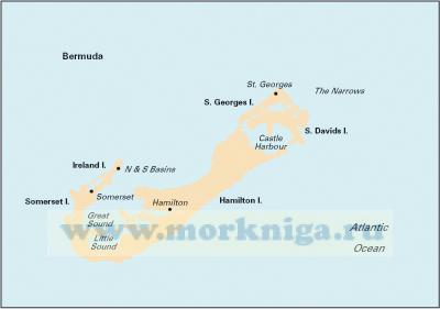 E5 Bermuda Бермудские острова (1:60 000)