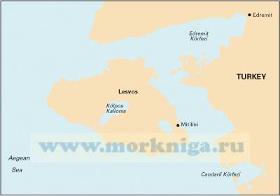 G27 Nisos Lesvos and the Coast of Turkey Остров Лесбос и побережье Турции (1:190 000)