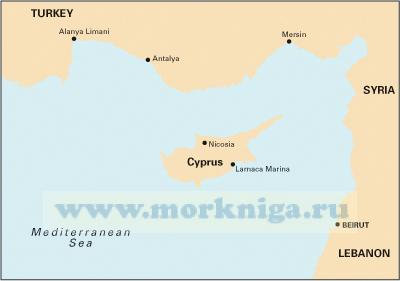 M21 South Coast of Turkey, Syria, Lebanon & Cyprus ( 1:785 000)
