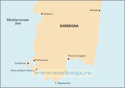 M9 Soth Sardegna Южная часть Сардинии