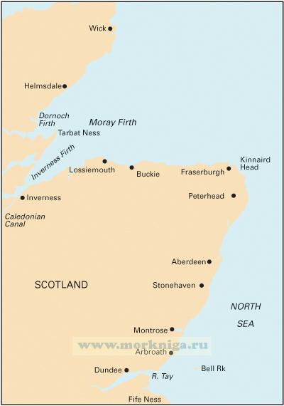 C23 Fife Ness to Moray Firth От Файф-Несс до Мори-Ферт (1:250 000)
