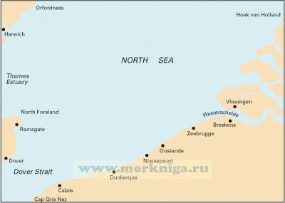 C30 Harwich to Hoek van Holland and Dover Strait От Хариджа до Хук-ван-Холланд и Дуврского пролива (1:200 000)