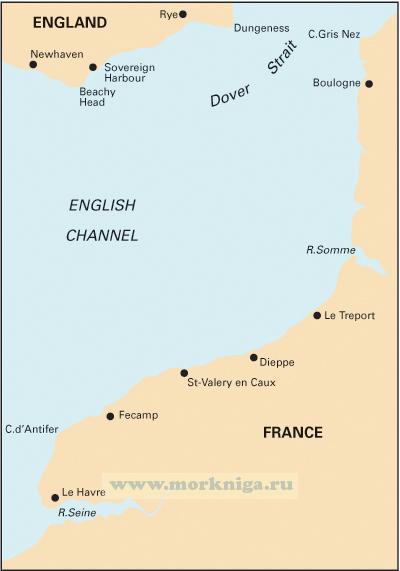 C31 Dover Strait to Le Havre От Дуврского пролива до Гавра (1:200 000)